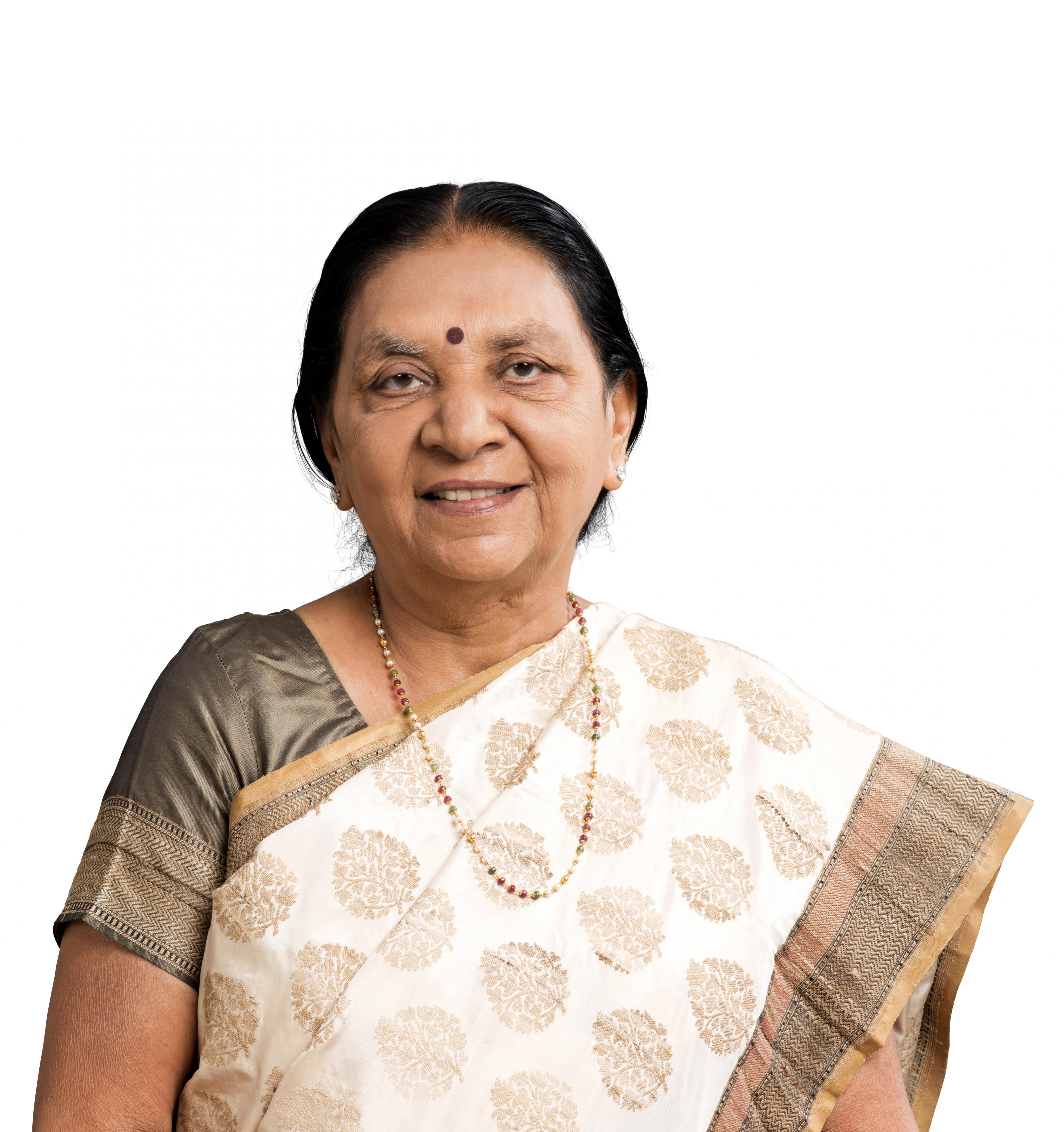 Blessings From Honourable Chief Minister Smt. Anandiben Patel
